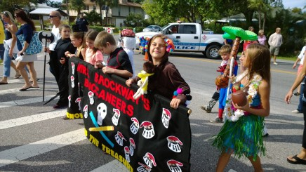 The Oct. 26 costume parade kicks off the annual AME Fall Festival that ends at the elementary school with games, prizes, food and refreshments and fun.
