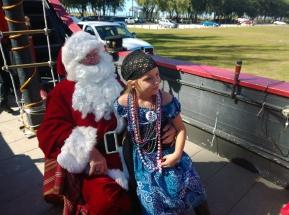 Anna Maria Island Privateer's Santa